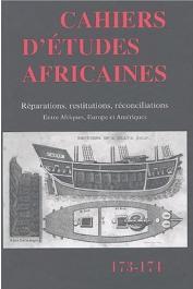 Cahiers d'études africaines - 173/174
