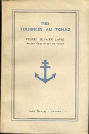 LAPIE Pierre Olivier - Mes tournées au Tchad
