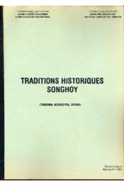 ZOUBER Mahmoud Abdou - Traditions historiques songhoy (Tindirma, Morikoyra, Arham)