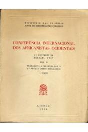 Collectif - Conferência Internacional dos Africanistas Ocidentais. 2a Conferência. Bissau, 1947