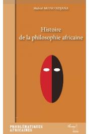MONO NDJANA Hubert - Histoire de la philosophie africaine