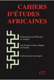 Cahiers d'études africaines - 177 / Varia