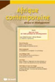 Afrique contemporaine - 228 / Les trajectoires de la Chine-Afrique