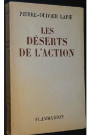 LAPIE Pierre Olivier - Les déserts de l'action