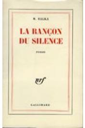BALKA Marie - La rançon du silence