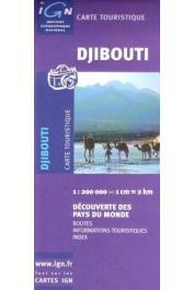 Djibouti - Carte touristique. Echelle 1:200.000eme