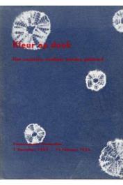 Catalogue de l'exposition Kleur op doek - Koninklijk Instituut voor de Tropen -  Amsterdam, 1 December 1954 - 14 Februari 1955 - Kleur op Doek. Hoe exotische weefsels worden gekleurd