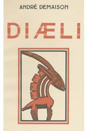 DEMAISON André - Diaeli. Le livre de la sagesse noire
