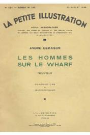 DEMAISON André - Les hommes sur le wharf