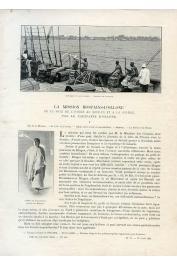 OLLONE d', (Capitaine) - La Mission Hostains-D'Ollone. De la Côte d'Ivoire au Soudan et à la Guinée