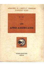 VERGER Pierre (coordination), Collectif - Les Afro-américains