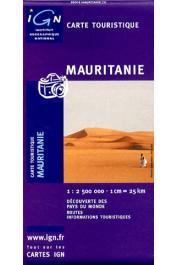 Mauritanie - Carte touristique. Echelle 1:2.500.000eme