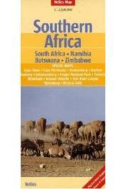 Southern Africa - Carte routière au 1:2 500 000e