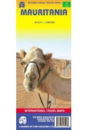 International Travel Maps - Mauritania 1:2.000.000e