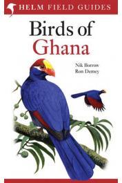 BORROW Nick, DEMEY Ron - Birds of Ghana