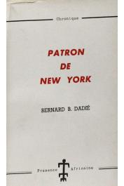 DADIE Bernard Binlin - Patron de New York. Chronique