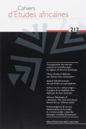 Cahiers d'études africaines - 212 Varia