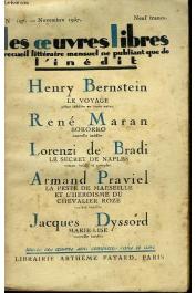 MARAN René, in Œuvres Libres n° 197 - Bokorro, nouvelle inédite