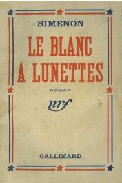 SIMENON Georges - Le blanc à lunettes