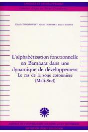 DOMBROWSKI Klaudia, DUMESTRE Gérard, SIMONIS Francis -  L'Alphabétisation fonctionnelle en Bambara dans une dynamique de développement : le cas de la zone cotonnière