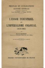 BAUMONT Maurice - L'essor industriel et l'impérialisme colonial (1878 - 1904) - Edition de 1949