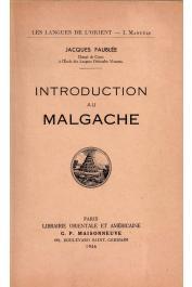 FAUBLEE Jacques - Introduction au malgache