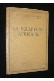 EINSTEIN Carl - La sculpture africaine (couverture)