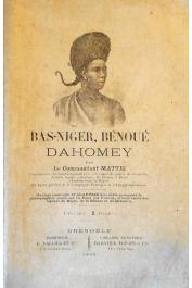 MATTEI Antoine (Commandant) - Bas-Niger, Bénoué, Dahomey