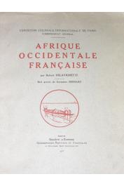 DELAVIGNETTE Robert - Afrique Occidentale Française