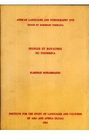 ELDRIDGE Mohammadou - Peuples et royaumes du Foumbina