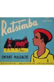 ANYVAL (ou Annie Vallotton) - Ratsimba, enfant malgache