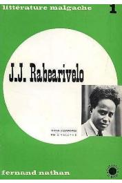 RABEARIVELO Jean-Joseph, VALETTE P. (textes commentés par) - J. J. Rabearivelo