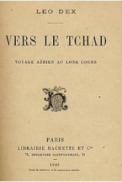 DEX Léo - Vers le Tchad. Voyage aérien au long cours