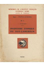 DUGAST Idelette - Inventaire ethnique du sud-Cameroun