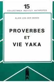VAN DER BEKEN Alain, s.j. - Proverbes et vie Yaka