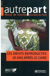 AUTREPART - 70 - Les droits de reproduction. 20 ans après Le Caire