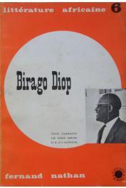 MERCIER Roger et BATTESTINI M. et S. (textes commentés par) - Birago Diop, écrivain sénégalais