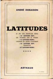 DEMAISON André - Latitudes