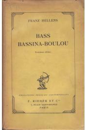 HELLENS Franz - Bass Bassina-Boulou