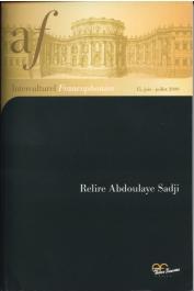 Interculturel Francophonies - 15 - Relire Abdoulaye Sadji