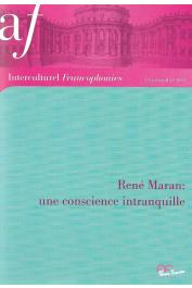 Interculturel Francophonies - 33 - René Maran: une conscience intranquille