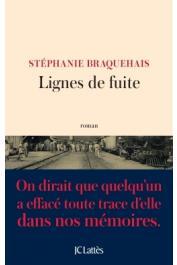 BRAQUEHAIS Stéphanie - Lignes de fuite