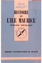 TOUSSAINT Auguste - Histoire de l'Île Maurice
