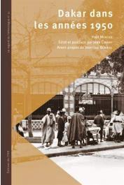 MERCIER Paul, COPANS Jean (éditeur) - Dakar dans les années 1950