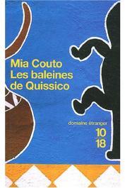 COUTO Mia - Les baleines de Quissico: nouvelles