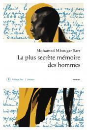 SARR Mohamed Mbougar - La plus secrète mémoire des hommes