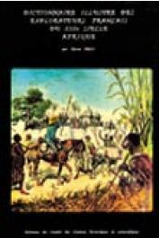 BROC Numa - Dictionnaire illustré des explorateurs français du XIXème siècle. Afrique
