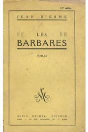 ESME Jean d' - Les barbares