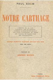 ADAM Paul - Notre Carthage