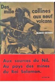 GEVERS Marie - Des mille collines aux neufs volcans (Ruanda)